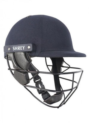 Picture of Shrey Armor 2.0 steel NAVY helmet