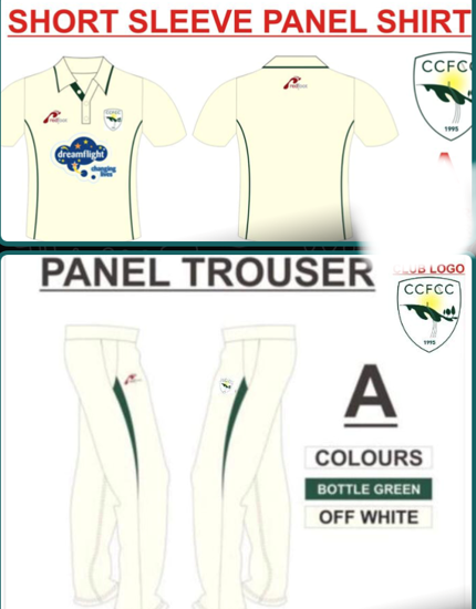 Picture of Match Shirt & Trousers JUNIOR - Short Sleeves
