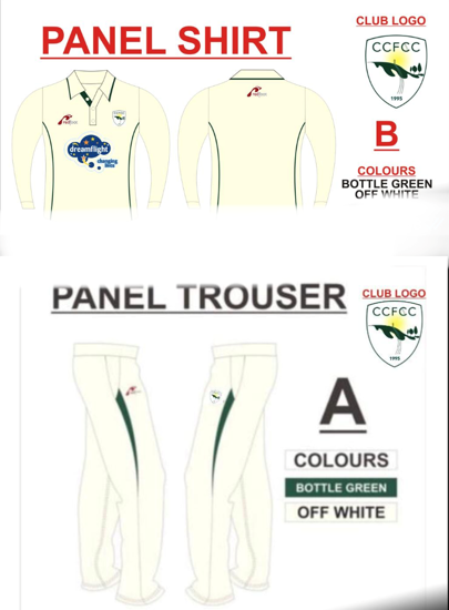 Picture of Match Shirt & Trousers SENIOR - Long Sleeve