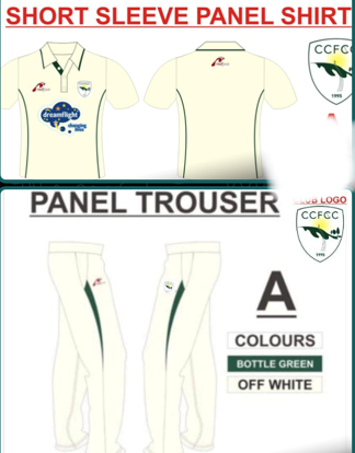 Picture of Match Shirt & Trousers SENIOR - Short Sleeve
